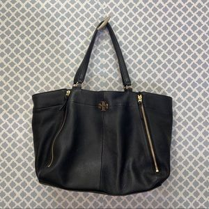 Tory Burch Black leather handbag